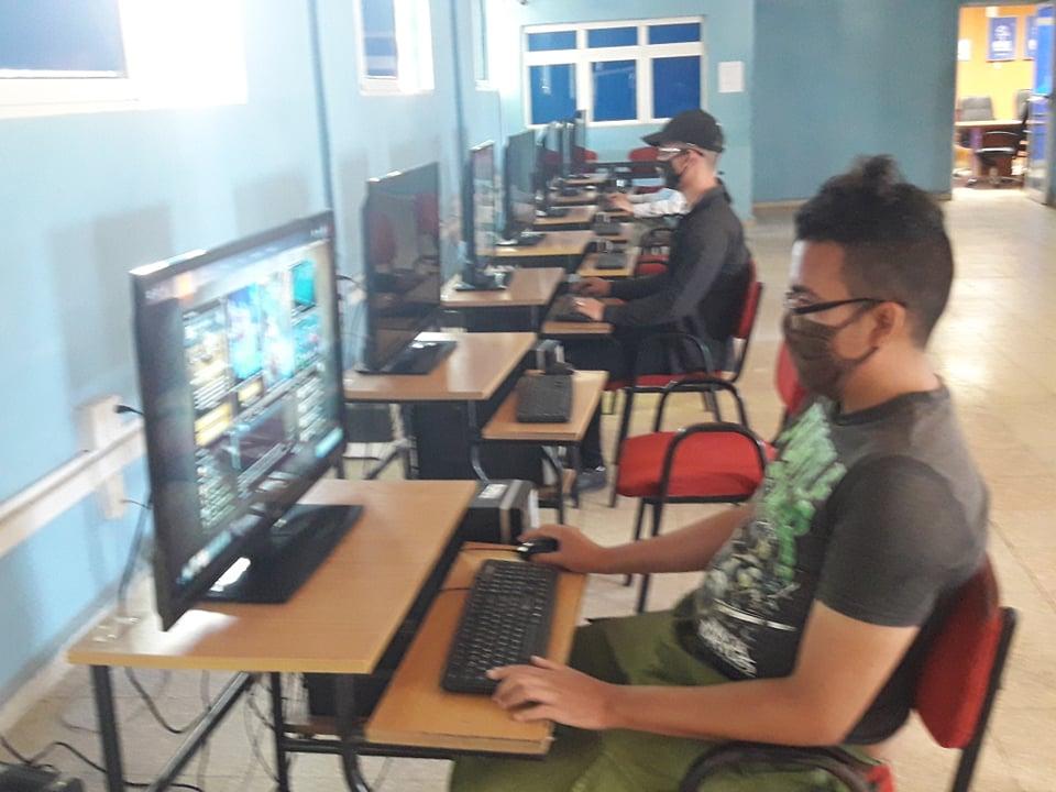 Cumplen medidas preventivas Joven Club de Computación en Camagüey ante la Covid-19