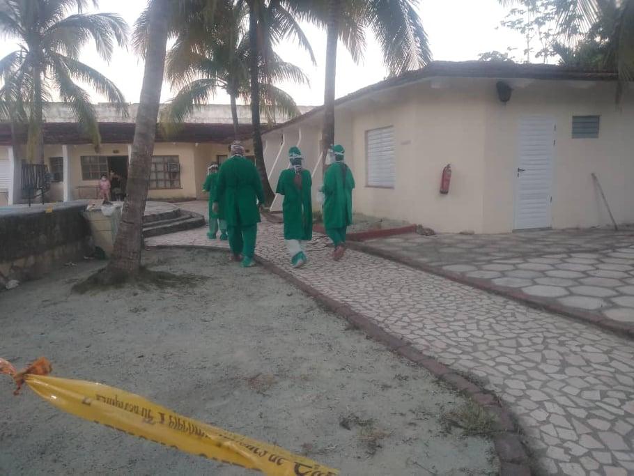 Villa Azucarera en Camagüey funciona como extensión hospitalaria para pacientes con Covid-19